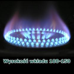 Wysokość wkładu 100-150