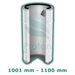 Wysokość wkładu 1001-1100