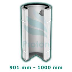 Wysokość wkładu 900-1000
